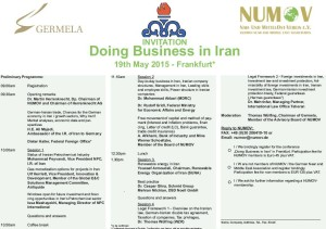 Numov doing business in iran
