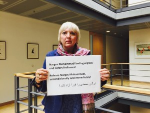 claudia roth narges mohammadi