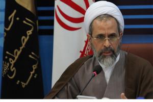Ali Reza Aarafi, der Chef der Al Mustafa Universität in Qom