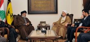 Mohsen Araki mit Nasrallah