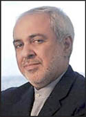 Zarif was directed by a supernatural power