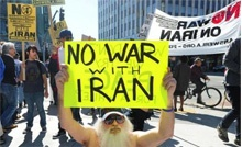 Relation and cooperation between Iranian regime and American anti-war groups